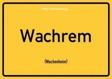 Wachrem (Wachenheim) - Pfälzisch Postkarte