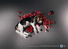 """ENPA - PRINT CAMPAIGN - """"MAKE UP""""Social campaign against animal testing for Enpa, the national animal protection organization.(No animals were harmed during the making of this picture)""""Help us cure the victims of animal testing for cosmetics. Makeup Companies, Cosmetic Companies, Makeup Brands, Stop Animal Testing, Stop Animal Cruelty, Small Rabbit, Social Advertising, Radio Advertising, Clever Advertising"""