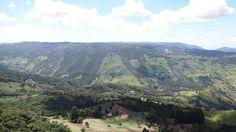 Vista da Pedra Ana Chata. Vistas incríveis da paisagem de São Bento de Sapucaí, no interior de São Paulo.