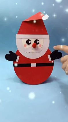 Diy Crafts For Kids Easy, Craft Activities For Kids, Preschool Crafts, Christmas Arts And Crafts, Christmas Ornament Crafts, Holiday Crafts, Cool Paper Crafts, Fun Crafts, Ideas