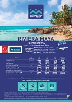 Super Oferta Riviera Maya Cadena Riu e Iberostar - http://zocotours.com/super-oferta-riviera-maya-cadena-riu-e-iberostar/
