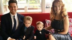 Micheal Buble and family