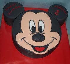 Mickey Mouse Cake / Mickey Mouse hoofd taart