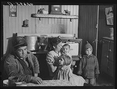 December Dennis DeCosta, and his family. They raise garden vegetables and about ten cows. Little Compton, Rhode Island. photo by Jack Delano Great Depression, American Life, Early American, American History, Rare Photos, Old Photos, Little Compton