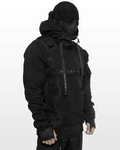 Tactical Wear, Tactical Clothing, Dystopian Fashion, Cyberpunk Fashion, Dark Fashion, Mens Fashion, Steampunk Fashion, Gothic Fashion, Mode Sombre