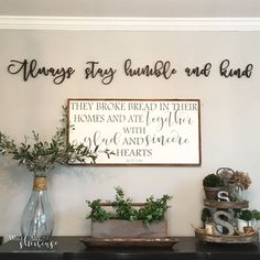 They broke bread in their homes and ate together Acts 2:46 painted wood sign - Rustic Antiqued sign - Inspirational Quote - Religous sign