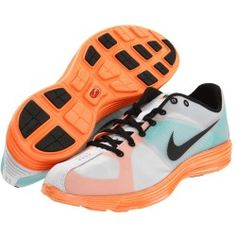 Nike - Lunaracer+ (Pure Platinum/Total Orange/Lush Teal) - Footwear www.grabevery.com