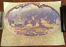 Jambalaya Festival Vintage Poster Print 1986 Louisiana Art