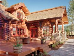 handcrafted log homes - Google Search