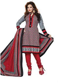 Dertaste Floral Print Kurta & Salwar - Buy Red, Multi colour Dertaste Floral Print Kurta & Salwar Online at Best Prices in India | Flipkart.com