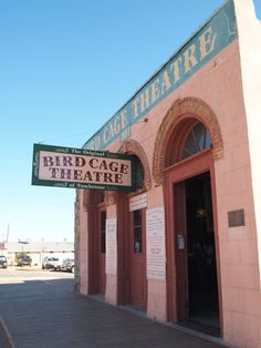 Tombstone, AZ  I actually got to stay in here at night on a ghost hunting adventure.