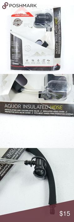 High Sierra Black Hydration Aquor Insulated Hose New High Sierra Black Hydration Aquor Insulated Hose Sports Running Hiking Water  New In Box!   We Purchased This Brand New However It Doesn't If Our Hydration Pack. High Sierra Other
