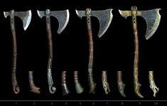 Fantasy Armor, Fantasy Weapons, Medieval Fantasy, Kratos God Of War, Kratos Axe, Arte Viking, Weapon Concept Art, Norse Mythology, Art Gallery