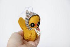 beautiful handmade felt ornaments
