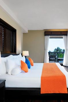Vibrant rooms at Anantara Mui Ne Resort in Vietnam