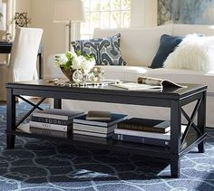 Cassie Coffee Table #potterybarn