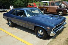 Muscle Cars… 1969 Chevrolet Chevy II Nova