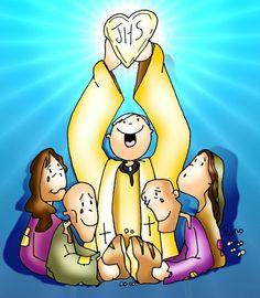 Jesús, pan que se parte y se reparte. Mt 5, 13-16