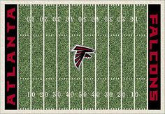 Falcons Home Field Rug from Rooms to Go