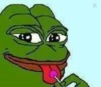 Buy 'Froggy Boi' by Aleese DeVore as a Sticker, Transparent Sticker, or Glossy Sticker Cartoon Jokes, Funny Cartoons, Memes Do Barney, Meme Faces, Funny Faces, Stupid Memes, Dankest Memes, Filipino Memes, Sapo Meme