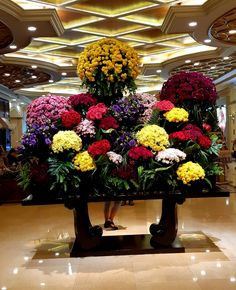 Resorts World Manila, Philippines, Christmas Tree, Table Decorations, Holiday Decor, Floral, Furniture, Home Decor, Teal Christmas Tree