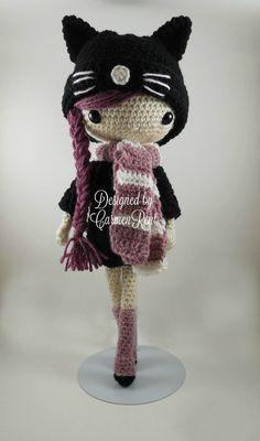 Miriam Amigurumi Doll Crochet Pattern PDF