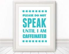 All I Need Is Coffee And Jesus Chalkboard Print by SpoonLily