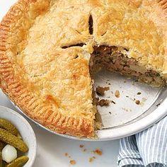 Bacon Recipes, Tart Recipes, Pork Pie Recipe, Peach Crumble Pie, Chicken And Mushroom Pie, Thing 1, Meringue Pie, Crusted Chicken, Pork Dishes