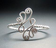 Twisted Paisley Adjustable Bracelet by melissawoods on Etsy, $16.00