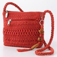 Crochet Shoulder Bag Pattern Lina