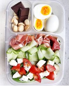 Prepped Lunches, Prepping, Lunch Box, Cobb Salad, Bento Box