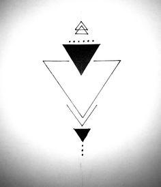 Dreieckiges Tattoos, Arrow Tattoos, Flower Tattoos, Body Art Tattoos, Small Tattoos, Sleeve Tattoos, Tattoos For Guys, Form Tattoo, Shape Tattoo