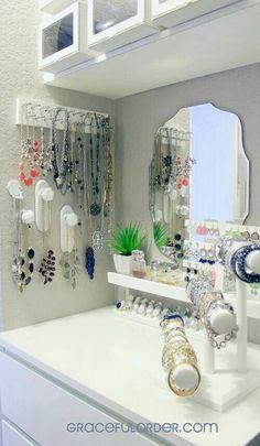 Nice way to organize jewelry