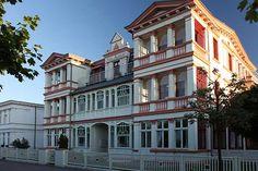 Ahlbeck - Villen an der Strandpromenade