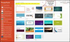 PowerPoint 2013'ü boş bir çalışma dosyası otomatik olarak ... Get my FREE mini course here!
