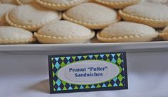 """Peanut """"Putter"""" Sandwiches- for Golf Party"""