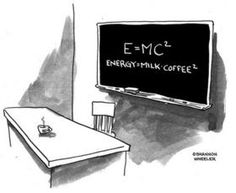 #Energy = #Milk * #Coffee square2 #Einstein revisited !!!...