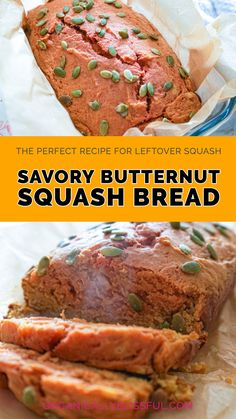 The perfect recipe to use any left over squash and turn it into bread. It is super easy to make and quick bread you can bake in under an hour. No yeast involved, no kneading, and no waiting for it to rise. This bread is soft and moist, almost like a cake texture.