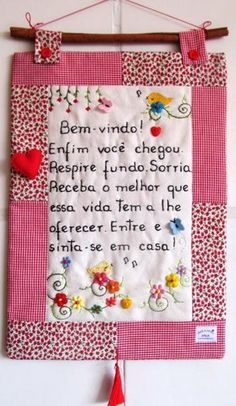 Panô Yo Yo Quilt, Sewing Projects, Projects To Try, Prayer Flags, Craft Business, Hand Stitching, Diy Gifts, Embroidery Designs, Needlework