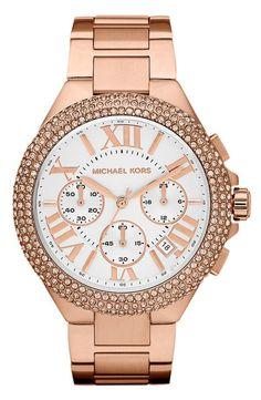Sparkly Bracelet Watch by Michael Kors