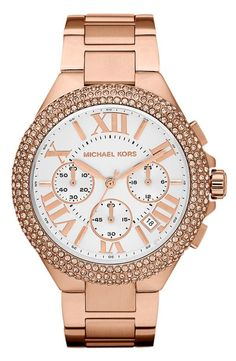 Sparkly Bracelet Watch by Michael Kors