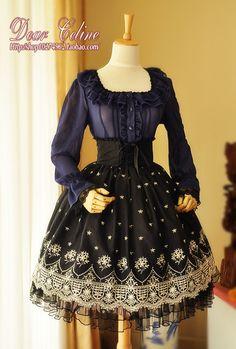 $42 ~ High Waisted Skirt ~ Dear Celine