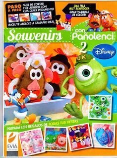 Revistas de manualidades gratis: Como hacer souvenirs en fieltro disney