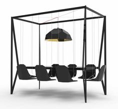 The Swing Table. My life's goal is now to implement this in the conference room of my future employer.