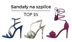 Sandały na szpilce - TOP 25 na rok 2016