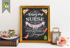 Retirement Gift for a nurse Nurse Thank you by TheArtyApples