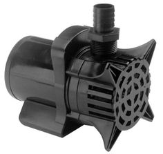 Beckett 7302010 Pond Waterfall Pump, 600 GPH by Beckett. $102.50. Energy efficient. Cycles 600 gallons per hour. Great for ponds, streams and extra large fountains and waterfalls. Use horizontally or vertically, underwater only. 1 year manufacturers warranty. Waterfall pump designed for continuous duty in fresh water garden ponds. At one foot above pond surface pump creates a waterfall width of 6-8-Inch. Inlet screen and volute is easy to disassemble using not tools. Discha...