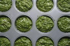 Pesto...à preparer pour l'année = congélation