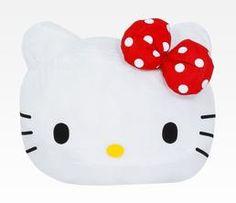 Hello Kitty Balloon Pillow Cushion: Face    WANT