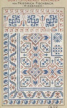 Gallery.ru / Фото #132 - старинные ковры и схемы для вышивки - SvetlanN